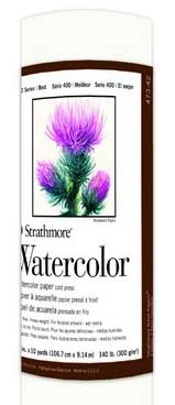 Strathmore Watercolor Roll 42in x 10yd