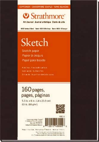Strathmore Sketch Soft Cover Art Journal 7.75 X 9.75