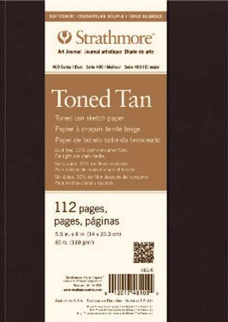 Strathmore Toned Tan Soft Cover Art Journal 7.75 X 9.75