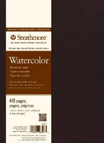 Strathmore Watercolor Soft Cover Art Journal 8 X 5.5