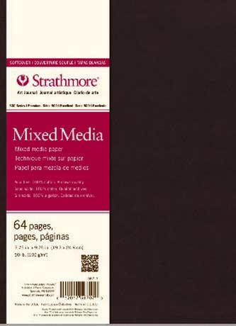 Strathmore Mixed Media Soft Cover Art Journal  7.75 X 9.75