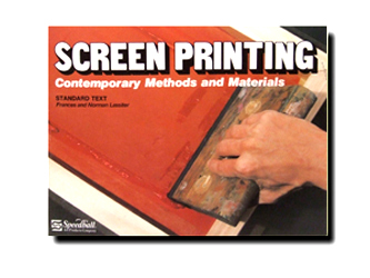 Speedball Screenprinting Book