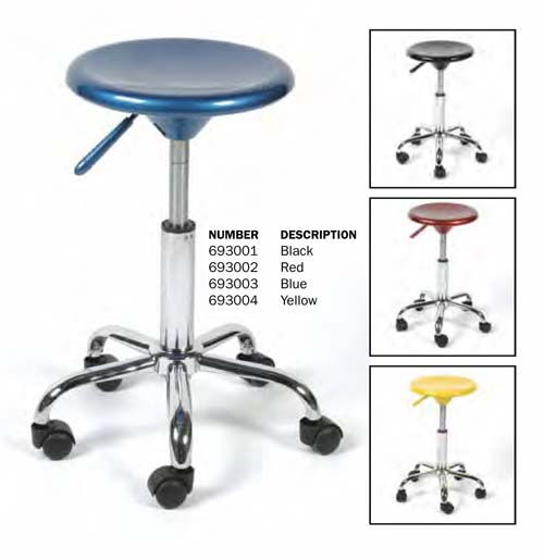 Richeson Colored Metal Stools