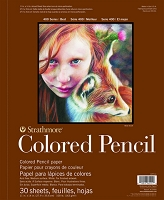Strathmore Colored Pencil Drawing Pad 400 SERIES 30 SHEETS 11 x 14