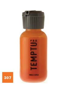 Temptu Pro Dura Ink 307 Orange 1 oz