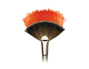 Eclipse Artist Brush Fitch Thick Fan 2