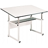 Alvin Drafting Table Workmaster White Base With 37.5X72 top