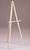 Prima Traditional Easel Natural Finish