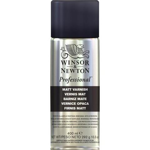 W&N Artists Spray Varnishes