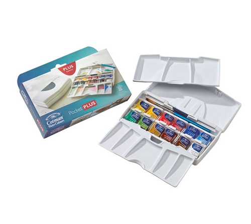 Cotman Water Color Pocket Plus Set