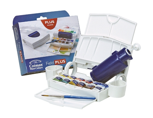 Cotman Water Color Field Plus Set