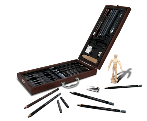 Royal Langnickel Wooden Sketching Set