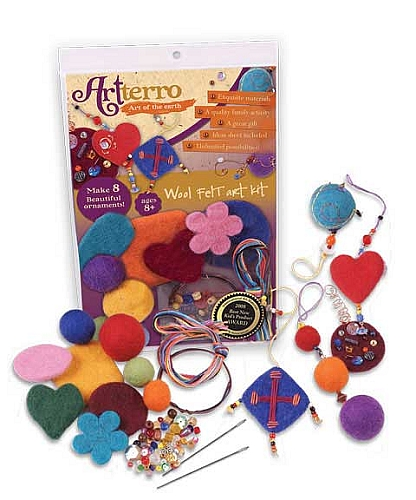 Artterro Wool Felt Art Kit