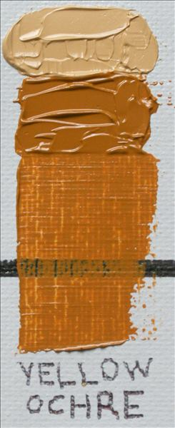 Gamblin 1980 Oil Paint Yellow Ochre 37ml