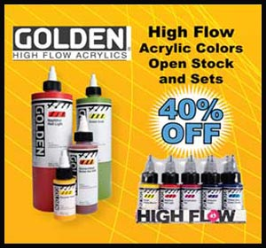 Golden High Flow Acrylic set
