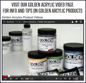 golden acrylic tutorials