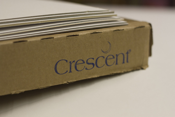 crescent illustration board