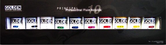 Golden Acrylics 1 oz. Fluid Set