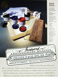 Jacquard Screen Printing Kit