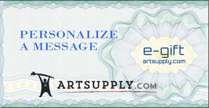 gift certificate for artists