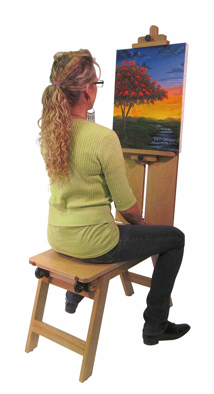 Martin Mobile Bench Style Easel