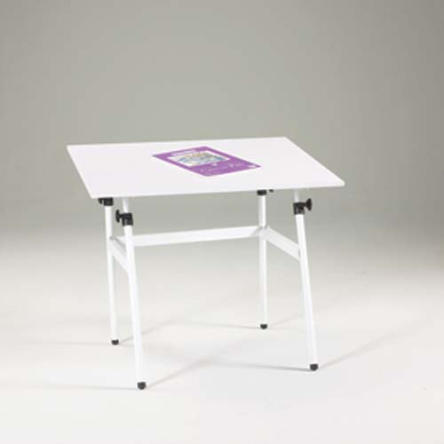 "Berkley White Table & 30x42"" C Top Only in White"