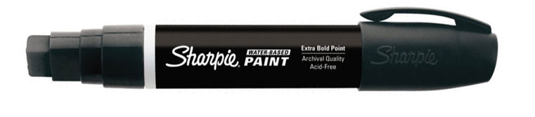 Sharpie Water-Based Paint Marker black Broad