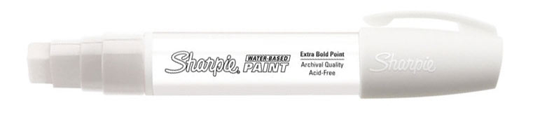 Sharpie Water-Based Paint Marker White Broad
