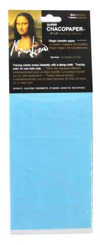 Chacopaper Blue Transfer Paper 11 3/4 X 17 1/2