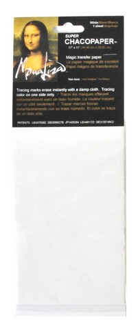 Chacopaper White Transfer Paper 11 3/4 X 17 1/2