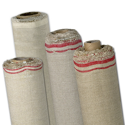 Fredrix Canvas Roll Kent Linen Double Oil Primed 54 Inch X 6 Yards