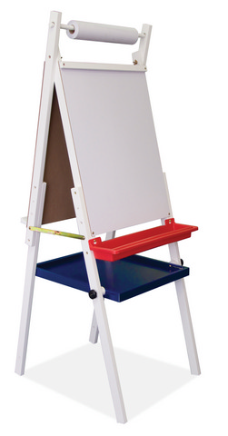 Kids Art Easel With Storage Tray