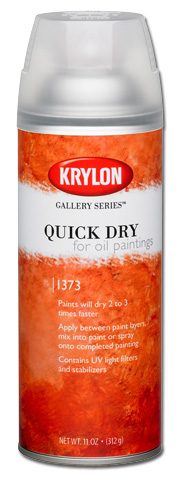 Quick Dry For Oil Paintings Spray 11 oz