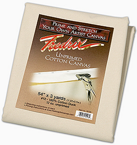 Fredrix Bagged Canvas Army Duck 10oz. Unprimed 3 Yard X 60 Inches