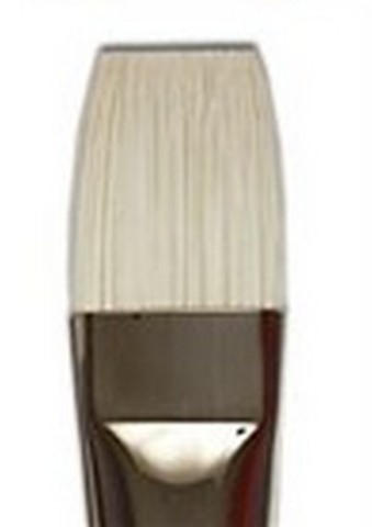 Bristlon White Synthetic Long Handle Bright 10