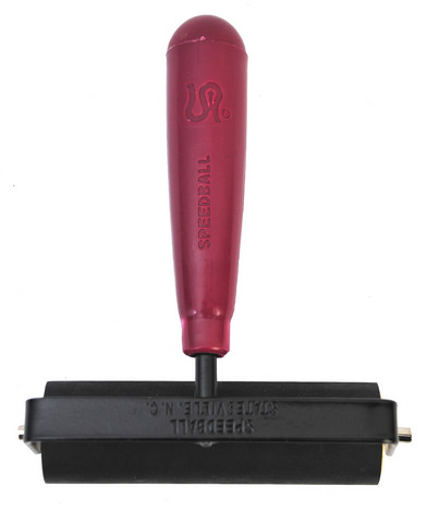 Deluxe Hard Rubber Brayer 4 Inch
