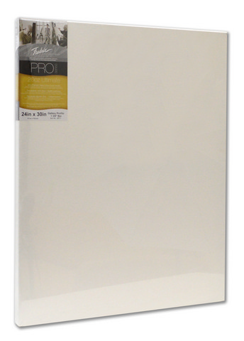 Fredrix Pro Series Ultimate 20oz. Stretched Canvas 24X30 1-3/8 Bar