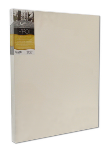 Fredrix Pro Series Ultimate 20oz. Stretched Canvas 24X30 2-1/4 Bar
