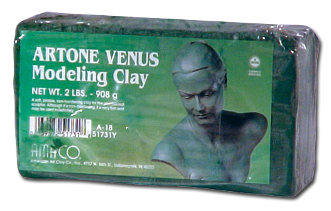 Artone Venus Modeling Clay Grey Green 2Lb