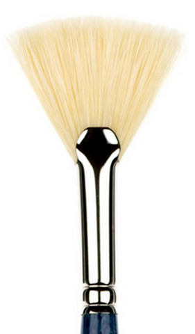 Princeton Ashley Better Bristle O/A Long Handle Brush Fan 3