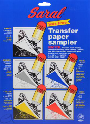 Saral Wax Free Transfer Paper Sampler