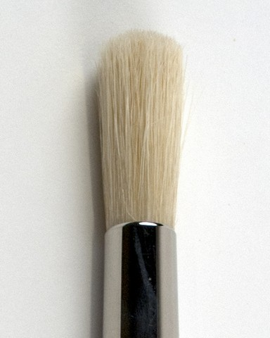 Silver Brush Silver Jumbo White Hog Bristle