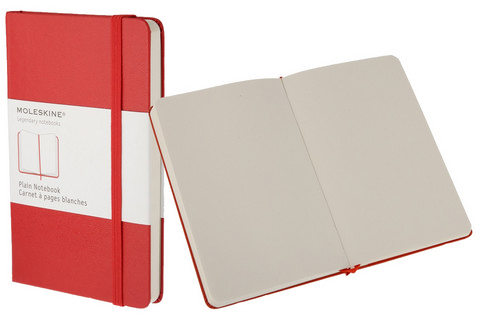 Moleskine Plain Red Books