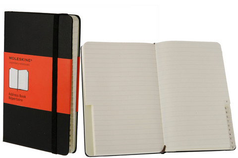 Moleskine Address Books