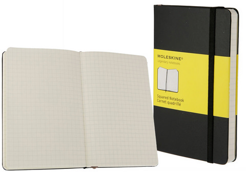 Moleskine Gridded Notebooks