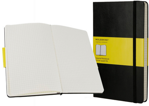 Moleskine Square Notebook Large 5 X 8.25