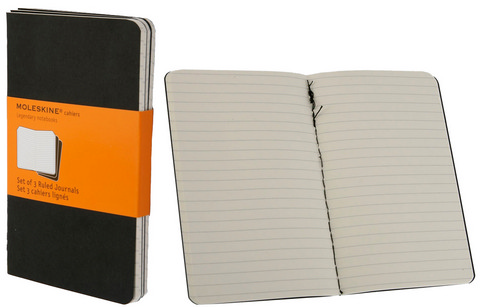 Moleskine Ruled Cahier Books