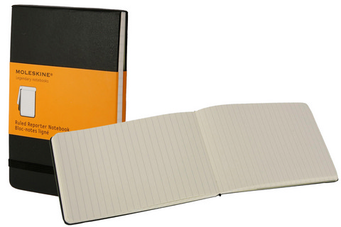 Moleskine Ruled Hard Cover Books