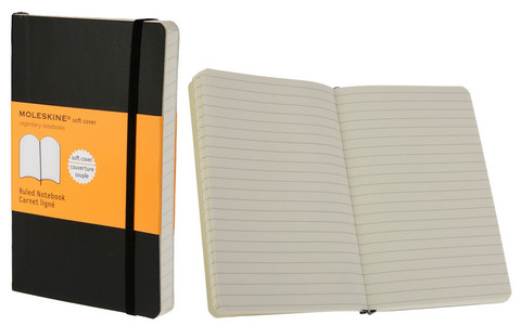 Moleskine Ruled Soft Cover Books