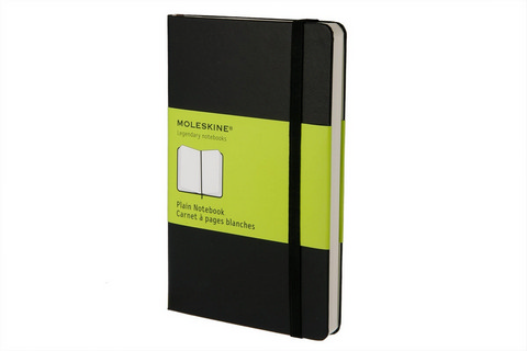 Moleskine Plain Notebook Soft Cover Large 5 X 8.25
